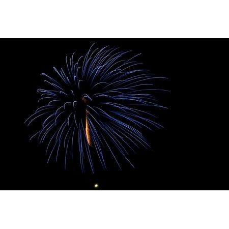 Minnesota, Mendota Heights, Fireworks, Aerial Displays Print Wall Art By Bernard