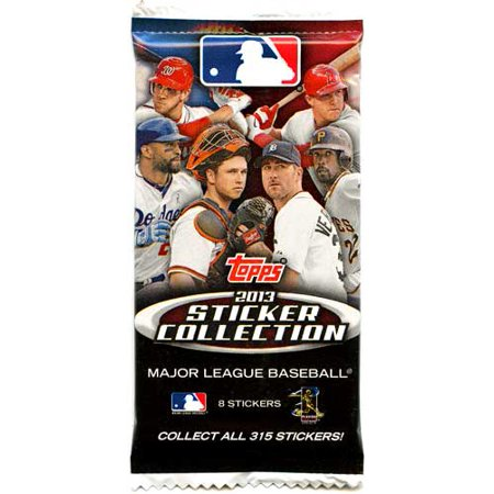 Mlb Mvp Collection (MLB 2013 MLB Sticker Collection Pack)
