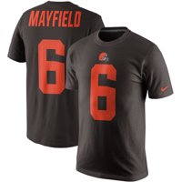4ed5eeede Product Image Baker Mayfield Cleveland Browns Nike Color Rush 2.0 Name &  Number T-Shirt - Brown
