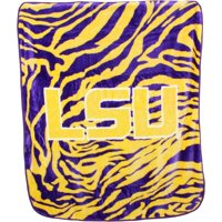 College Covers Louisiana State University Tigers Throw Blanket
