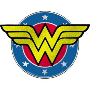 Sticker Dc Comics Wonder Woman Glitter Logo New Toys S Dc 0158 G Walmart Com Walmart Com