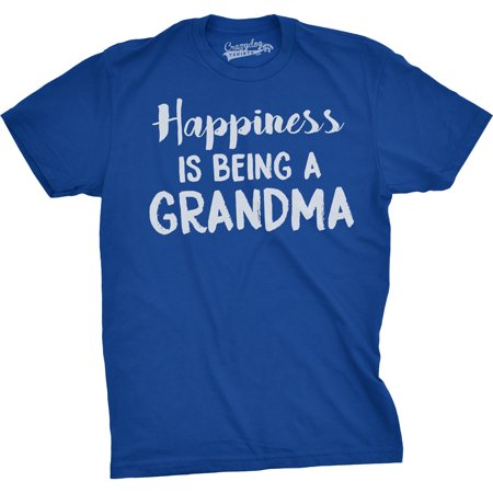 Happiness Is Being a Grandma Unisex Fit T shirts Gift Idea Funny Family T shirt (Halloween T-shirt Craft Ideas)