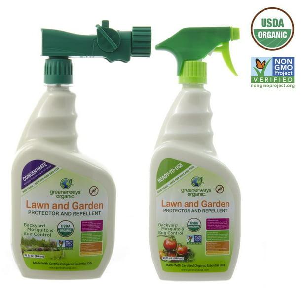 Greenerways Organic Backyard Insect Repellent Mosquito Repellant