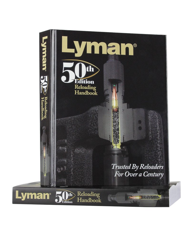 Lyman Load Data Book 50th Edition Reloading, Hard Cover by Lyman