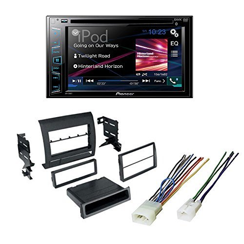 Toyota Tacoma 2005 -2011 Single Din Car Stereo Radio CD Player Dash Installation Kit Mount Trim + Harness by Pioneer