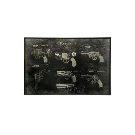 Biltmore Metal (Gun Collection - Printed On Metal - Wall)