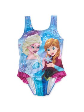 de6974b0d5 Product Image Frozen Ruffle Detail 1pc Swimsuit (Toddler Girls)
