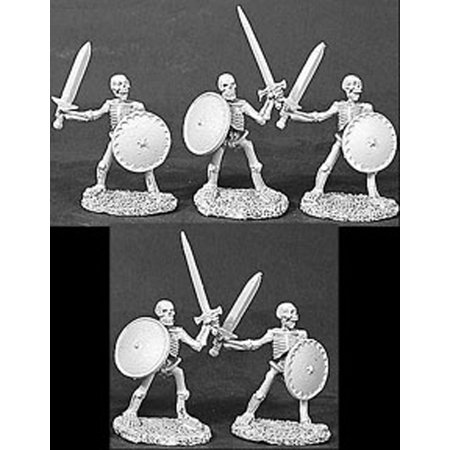 Reaper Miniatures Skeletons Swords 5 Pieces 06053 Dark Heaven Legends Army Packs - Miniature Collection 5 Piece