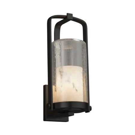Justice Designs LumenAria Atlantic Large Outdoor Wall Sconce - Matte Black - FAL-7584W-10-MBLK