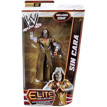 Sin Cara Costumes (WWE Wrestling Elite Series 18 Sin Cara Action Figure)