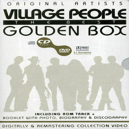 Best of the Village People-Golden Box (DVD)