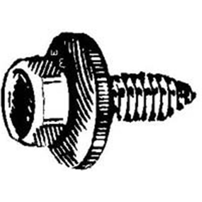 W & E Sales Co WE5947 6 x 20Mm Body Bolt 17Mm Washer