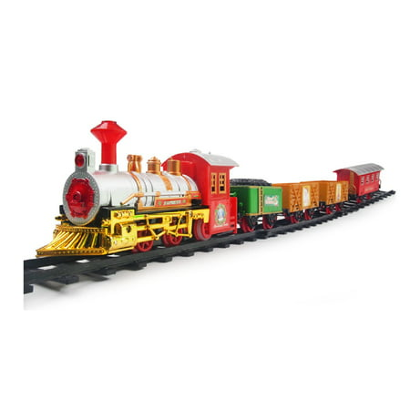 The Classic Battery Operated Christmas Tree Kids Toy Train ...