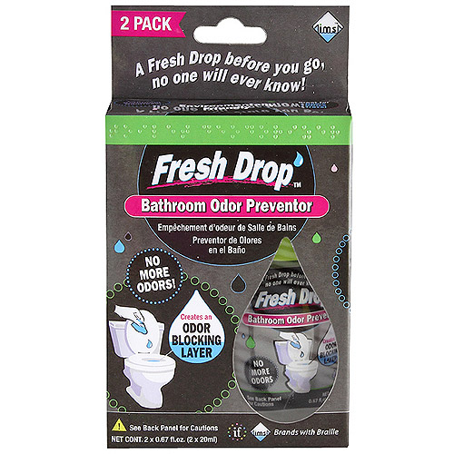 Fresh Drop Bathroom Odor Preventor, 2 count