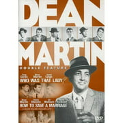 The Dean Martin Double Feature Who Was That Lady   How To Save A Marriage by COLUMBIA TRISTAR HOME VIDEO