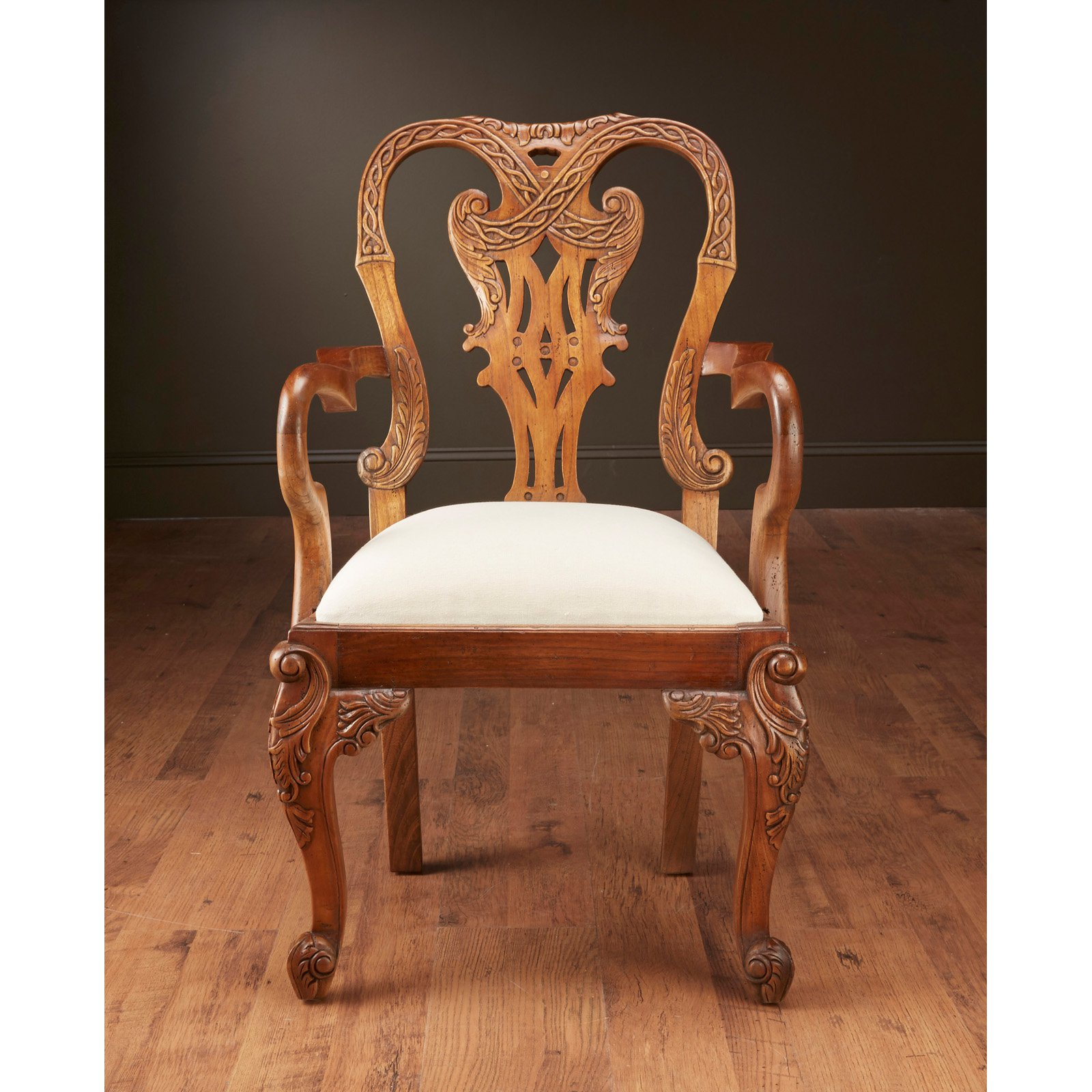 AA Importing Chippendale Dining Side Chair