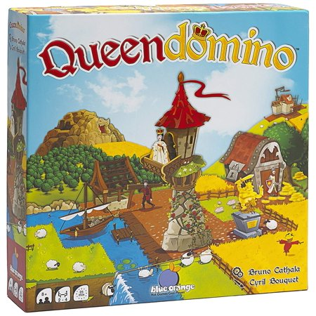 Games Queendomino Strategy Board, Queen domino is both a standalone game and an expansion of the 2017 Spiel des Jaures recipient, King domino By Blue - Halloween Game Ideas 2017