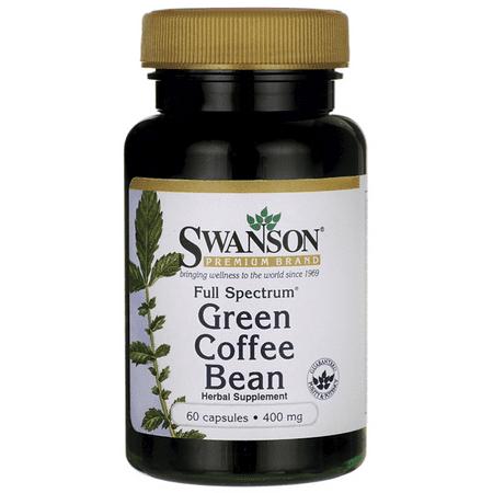 Swanson Full Spectrum Green Coffee Bean 400 Mg 60 Caps Walmart