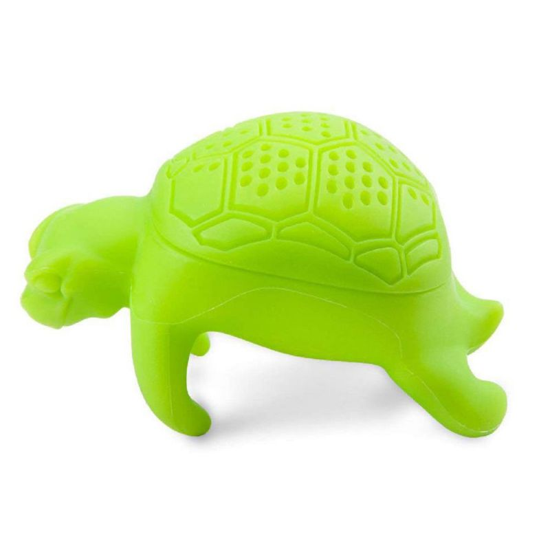Turtle Tea Leaf Strainer Herbal Spice Silicone Filter Diffuser Tool