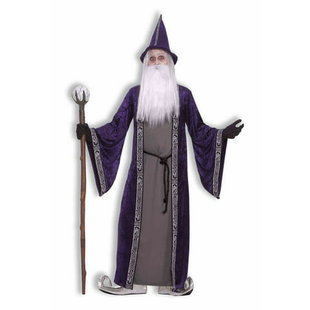 Wizard Mens Costume (Mens Wizard Costume)
