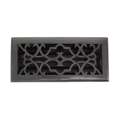 "Brass Elegans 120A 2 1/4"" x 10"" Victorian Series Solid Brass Decorative Floor Re"