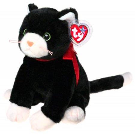 Buddy Cat - TY Beanie Buddy - ZIP the Black Cat