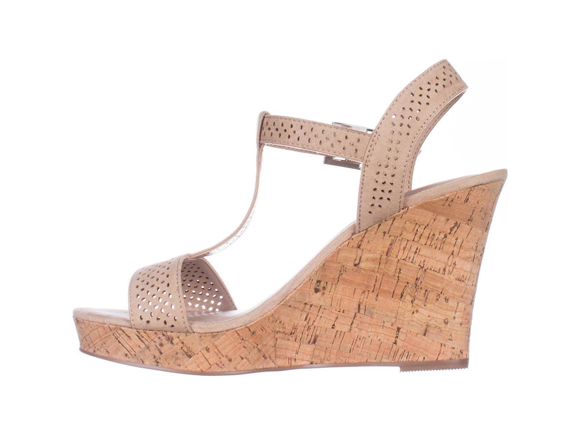 59ed99f11fe6 Charles Charles David Law Platform Wedge Sandals -
