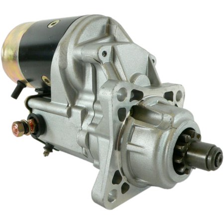 DB Electrical SND0049 Starter For Hyster H100XL, H110XL,H130XL, H-80XL 96-On, Perkins 1000-4 Diesel Engine / 8504305/ 1453060 /228000-6400, 228000-6401 /12 Volt, CW Rotation, 10