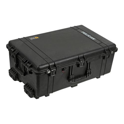1650 Watertight Wheeled Hard Case with Foam Insert - Black