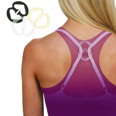 6 Bra Strap Concealer Clips Solution Perfect Lift Max Cleavage Control -