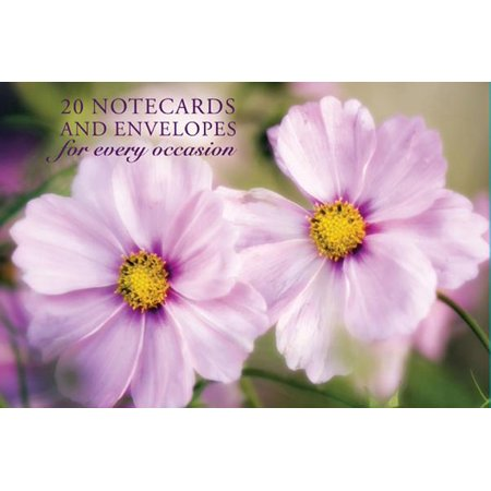 Card Box of 20 Notecards and Envelopes: Pink Cosmos : A Delightful Pack of High-Quality Flower Gift Cards and Decorative (A Gift From A Flower To A Garden)