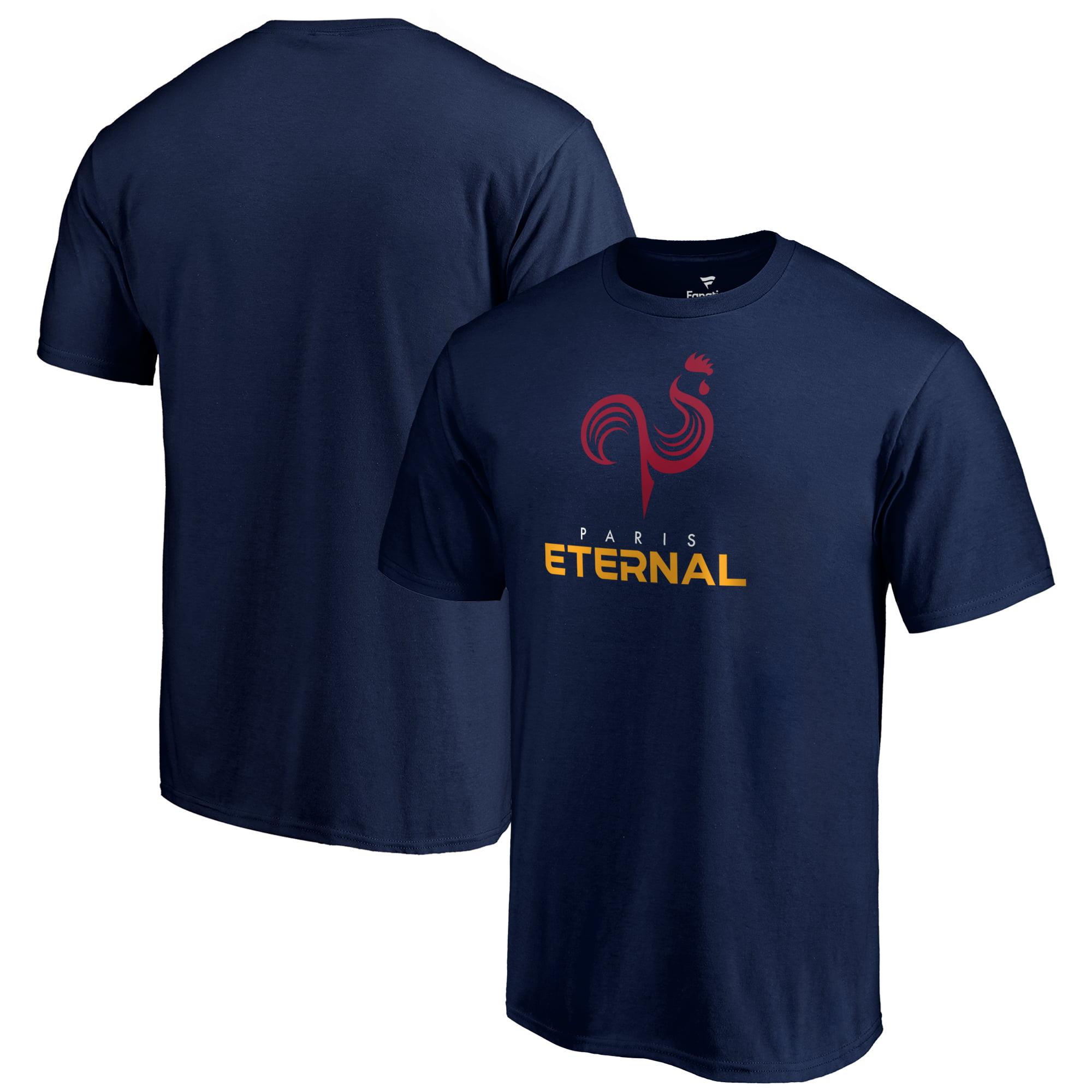 Paris Eternal Fanatics Branded Team Identity T-Shirt - Navy