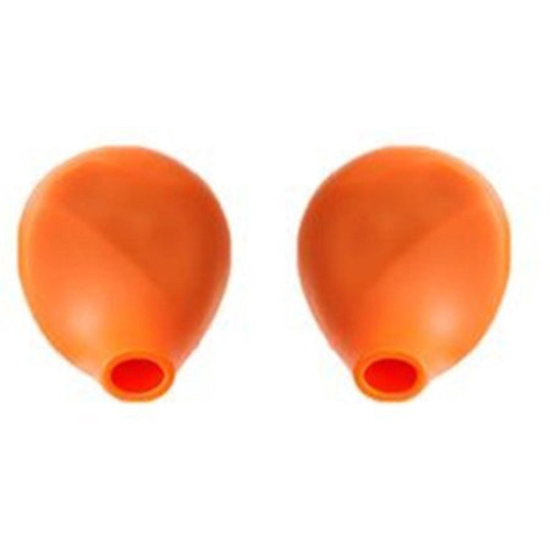Yurbuds Orange Adventure Series Earbud Enhancers Covers