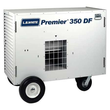 L.B. WHITE Portable Gas Heater,Dual Fuel,350000BtuH TS350ASDN220097