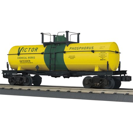 Chemical Tank Car - MTH 30-73424 O Victor Chemical Works Tank Car