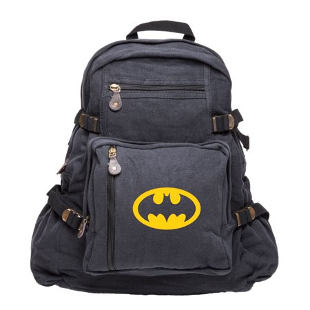 Batman Bat Symbol Logo Adults & Kids Backpack School Hiking Laptop Bag