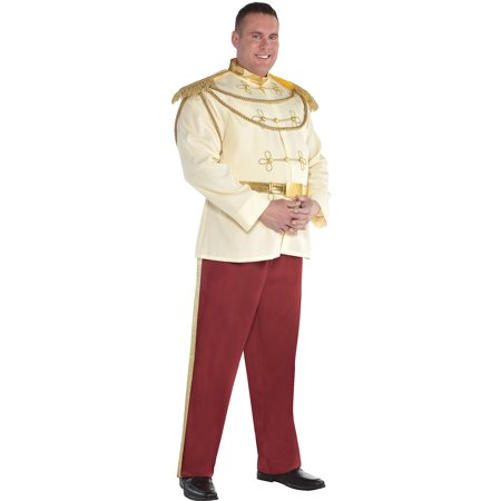 Prince Charming Halloween Costume for Men, Cinderella, Plus Size](Cinderella And Prince Charming Costumes)