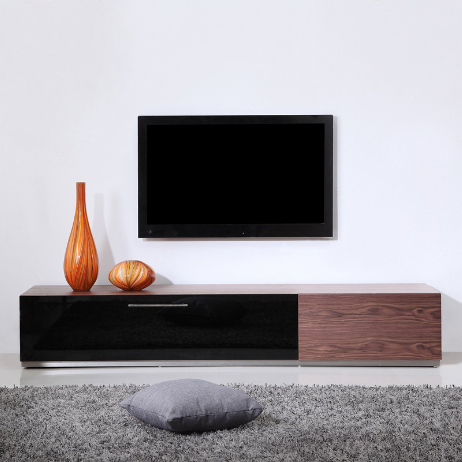 B-Modern Producer TV Stand - Light Walnut