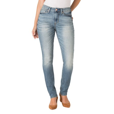 cf2e37b651853 Signature by Levi Strauss   Co. - Signature by Levi Strauss   Co. Women s  High Rise Slim Jeans - Walmart.com