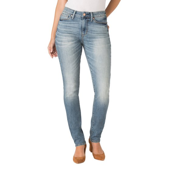 e145b81e Signature by Levi Strauss & Co. Women's High Rise Slim Jeans - Walmart.com