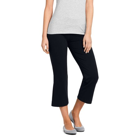 Women's Starfish Stretch Crop Pant (Black Stretch Crop Pants)