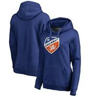 FC Cincinnati Fanatics Branded Women's Primary Logo Pullover Hoodie - Royal