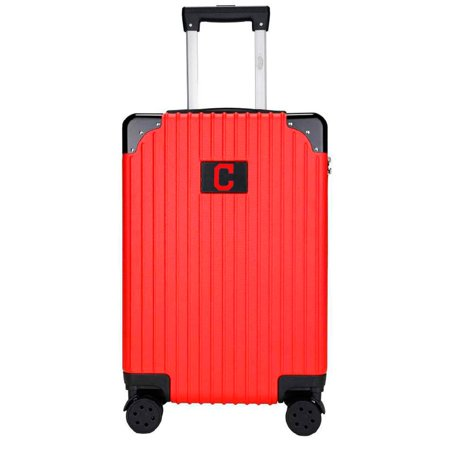 Cleveland Indians Premium 21'' Carry-On Hardcase Luggage - Red