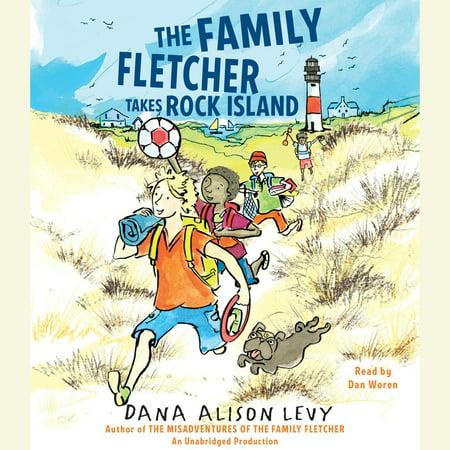 The Family Fletcher Takes Rock Island - Audiobook