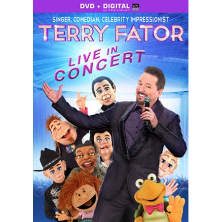 Terry Fator: Live In Concert (DVD + Digital Copy) (Walmart (Abc For Kids Live In Concert Vhs)