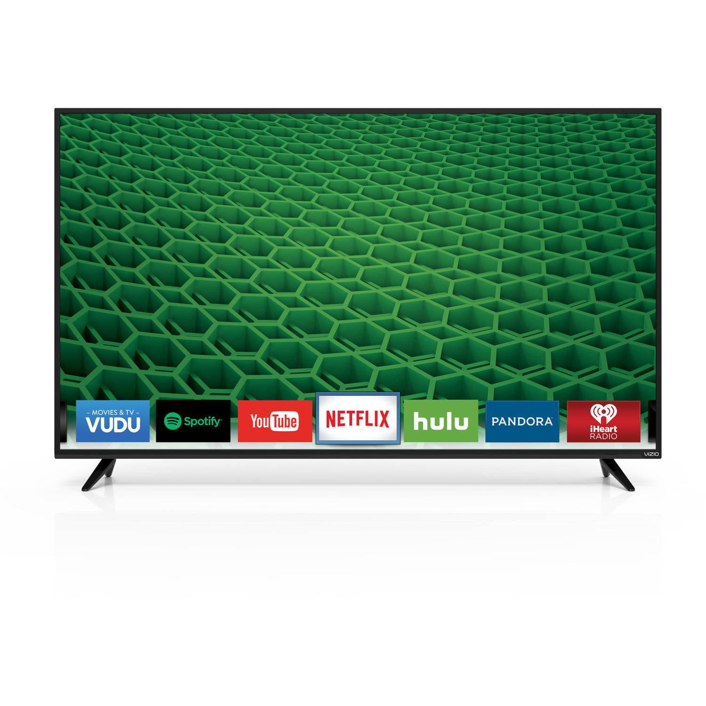 """VIZIO D65-D2 D-Series 65"""" 1080p 120Hz Fully Array LED Smart HDTV"""