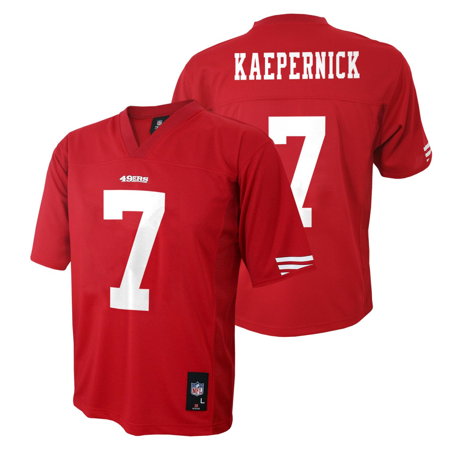Outerstuff Colin Kaepernick San Francisco 49ers Youth NFL Mid Tier Replica Jersey
