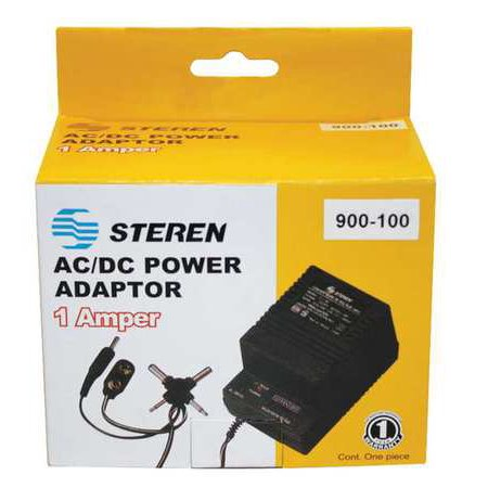 900-100 AC Power Adapter, 110/220V, 1000mA