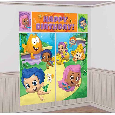 Bubble Guppies Scene Setter Kit