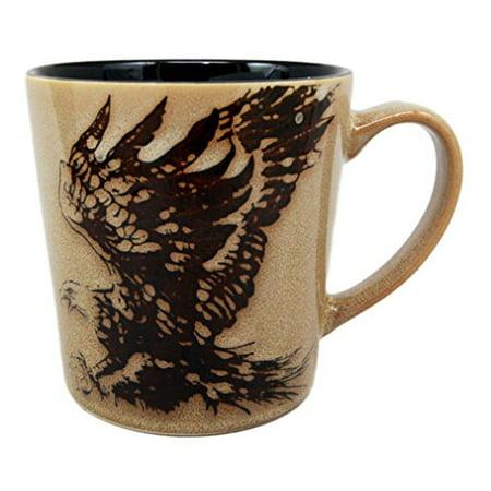 Atlantic Collectibles Glazed Stoneware Wildlife King Of The Sky Patriotic Bald Eagle 13oz Ceramic Mug Coffee - Mara Collectible Stoneware